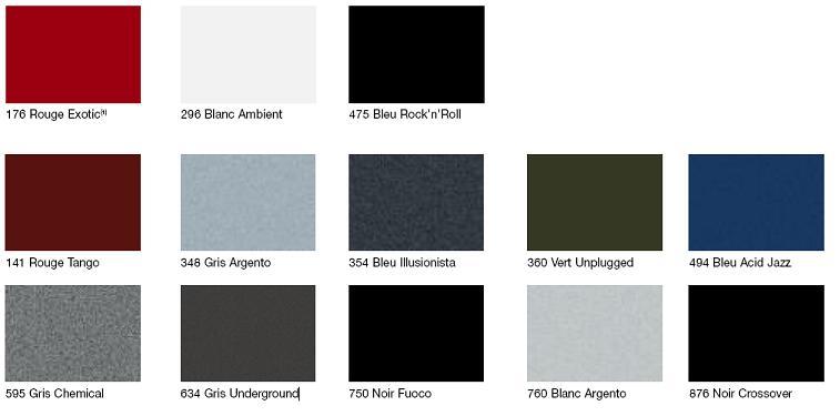 quelle couleur va le mieux la punto evo punto grande punto fiat forum marques. Black Bedroom Furniture Sets. Home Design Ideas