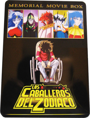 Los Caballeros del Zodiaco Memorial Movie Box (2010) DVDR NTSC